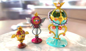Sailor Moon Holy Grail, Chalice, Stallion Reve 3D