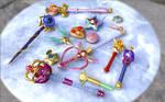Sailor Moon 3D Stuff