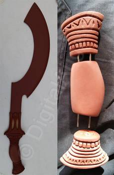 Khopesh egypt sword Chepesch Schwert 4