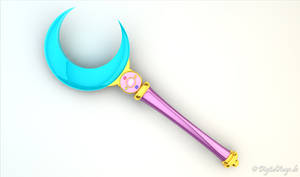 Sailor Moon Crystal Moon Stick 3D Anime V2 #1
