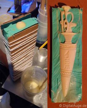 Egyptian artifacts Pesesh-kef wands Replic #3