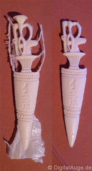 Egyptian artifacts Pesesh-kef wands Replic #4