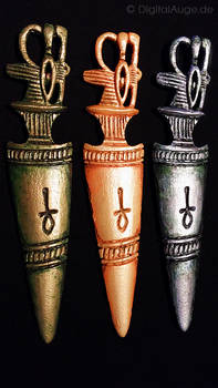 Egyptian artifacts Pesesh-kef wands Replic #5