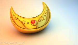 Sailor Moon - Venus Crescent Moon Compact 3D #02