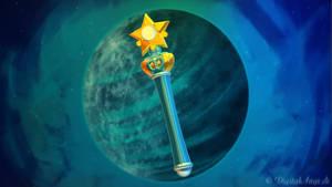 Sailor Mercury Power Star Stick/Wand 3D