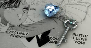 Sailor Moon - Chibi Moon Key chain Act.19 3D