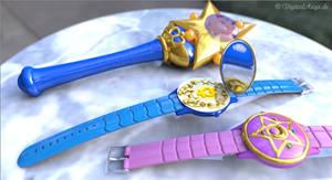 Sailor Moon - Mercury communicator watch 3D