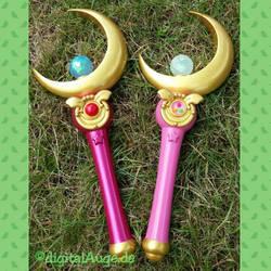 Sailor Moon - Moon Stick Prop V 2.0 finish