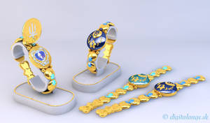Sailor Uranus and Neptun Communicator 3D #1