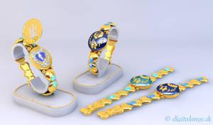 Sailor Uranus and Neptun Communicator 3D #1