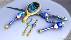 Sailor Neptun Uranus Items 3D