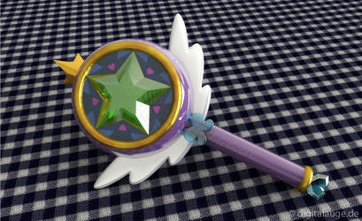 Star vs. the Forces of Evil - Wand 2014 3D #2 by digitalAuge