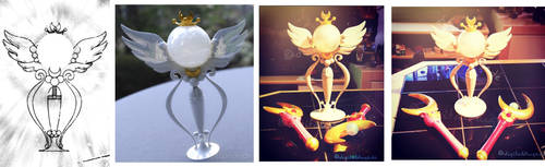 Sailor Moon - Holy Moon Chalice Prop Finish