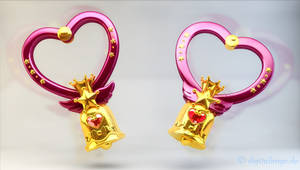 Sailor Moon - Crystal Carillon 3D 4 time lapse vid