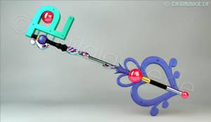Sailor Pluto Keyblade Master 3D
