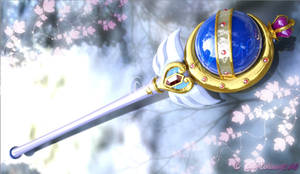Neo Queen Serenity - Cutie Moon Rod Crystal 3D #1