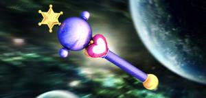 Sailor Moon - Pluto Wand 3D