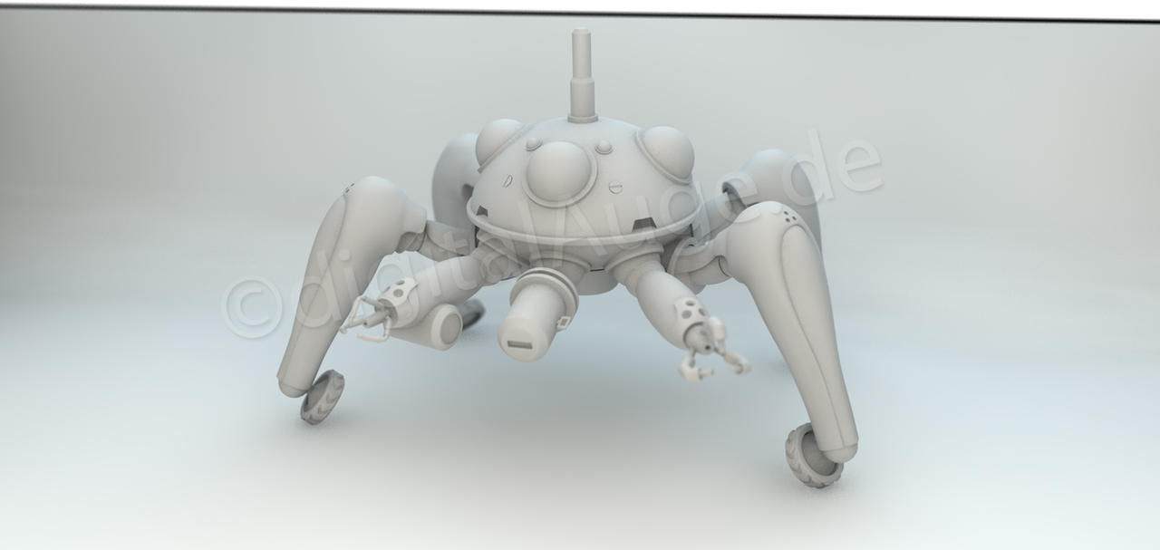 Ghost in the shell - Tachikoma 3D by digitalAuge