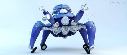 Ghost in the shell - Tachikoma 3D