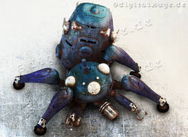 Ghost in the shell - Tachikoma 3D 3