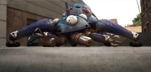 Ghost in the shell - Tachikoma 3D 4