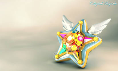 Starlights Star Yell 3D (remake) by digitalAuge