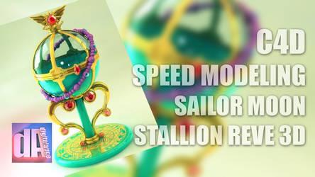 Making of video Stallion Reve 3D