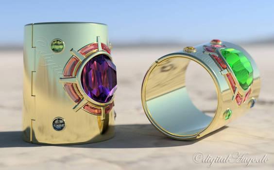 Galaxia Bracelets 3D