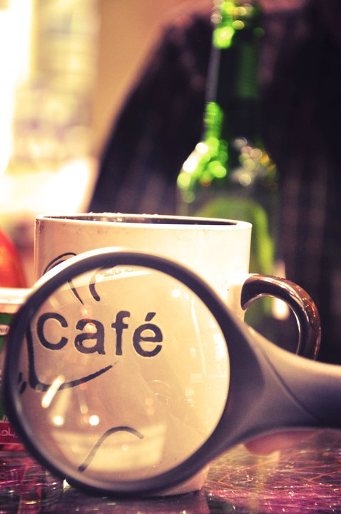 Cafe makes you focus by Mega-Shots