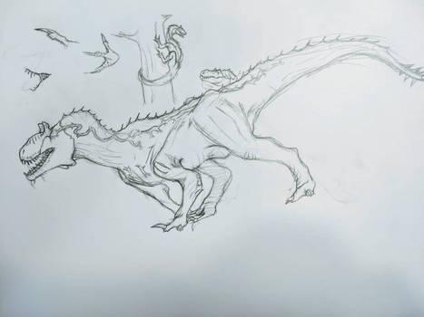 neuro allosaurus