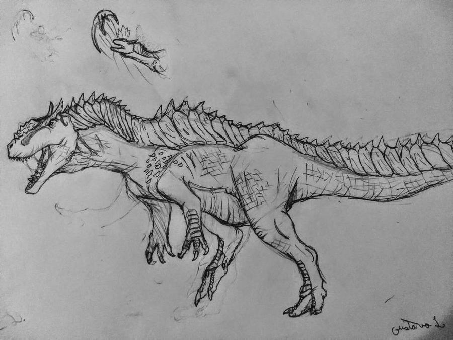 hypo allosaurus by Gustavolamaral