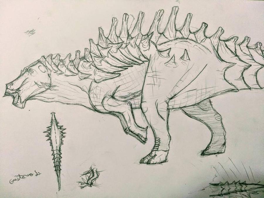 hypo shantungosaurus by Gustavolamaral