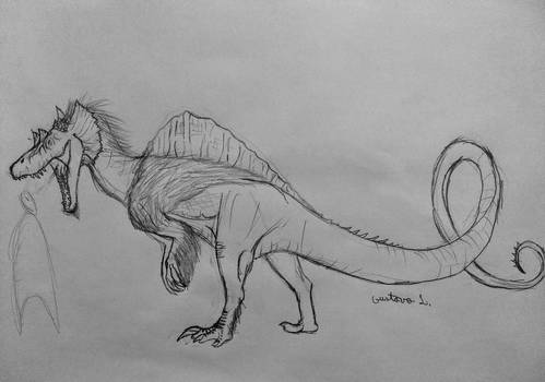 hybrid dinosaur thing