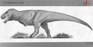 [The Isle Tyrannosaurus Rex redesign]