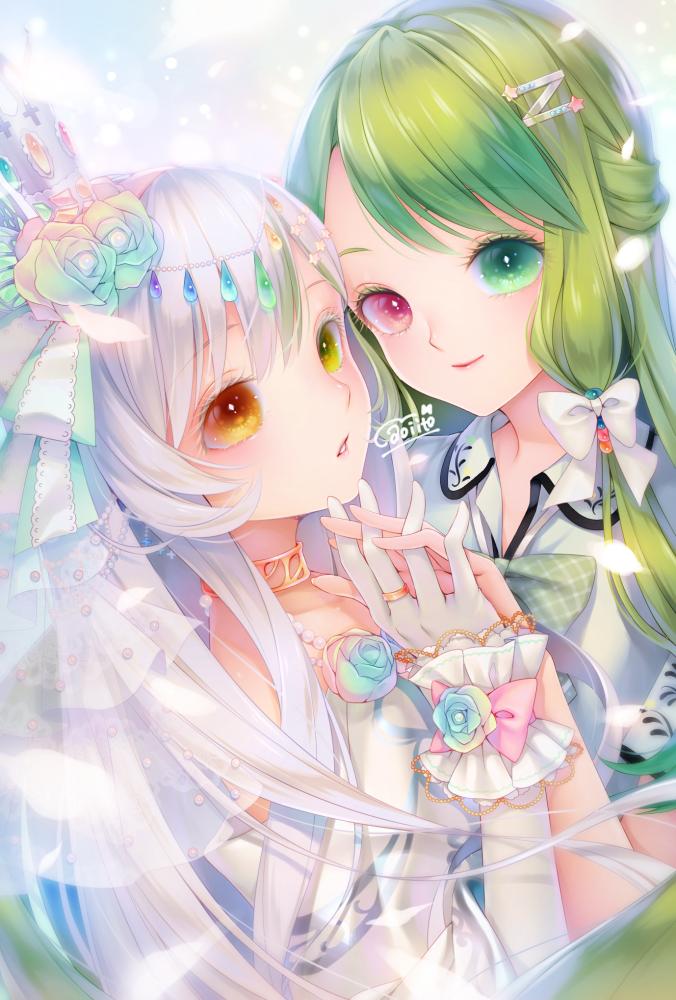Mido and Hisui(commission)