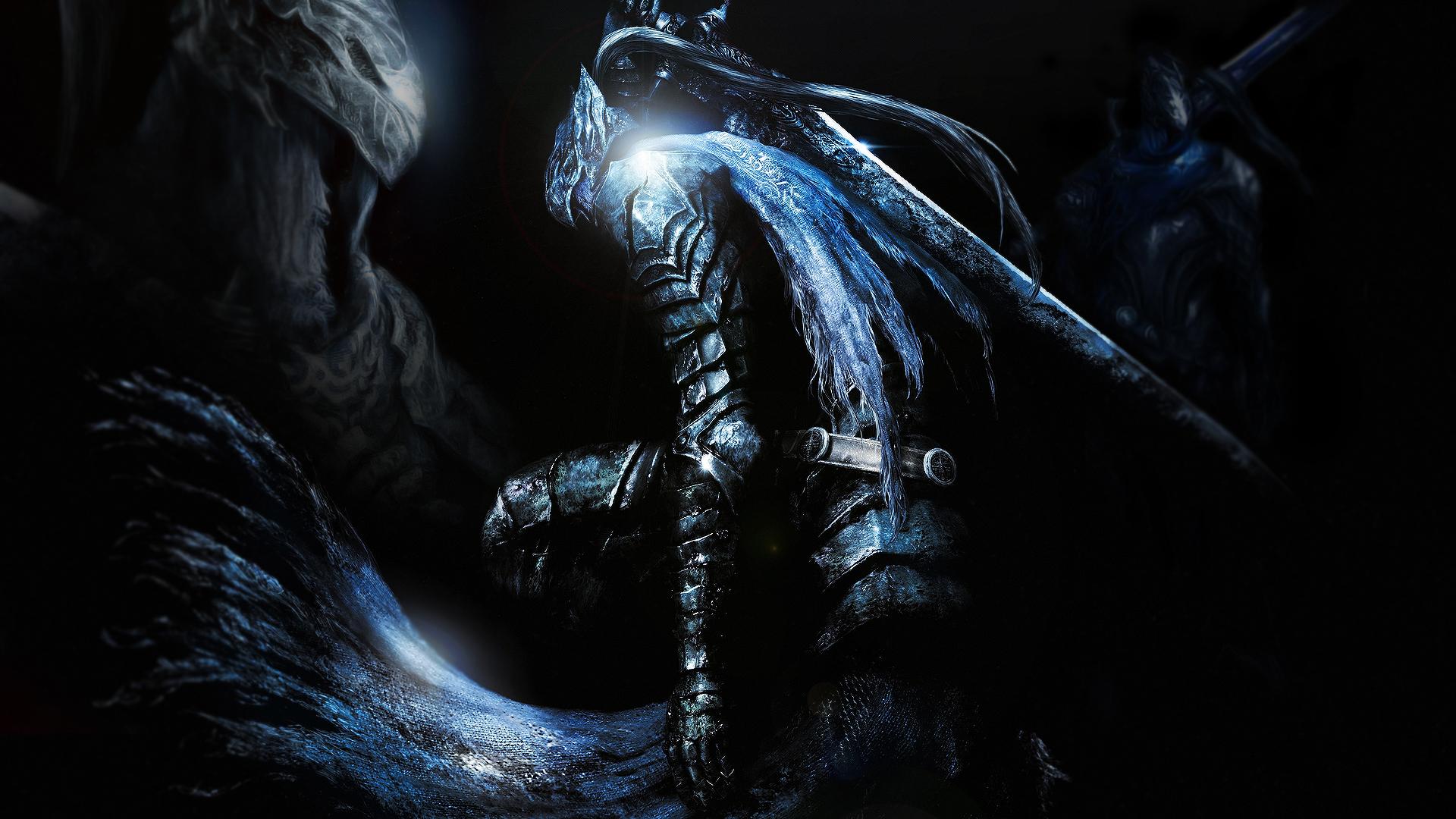 Video Game Character Collage Wallpaper Dark Souls Artorias wa...