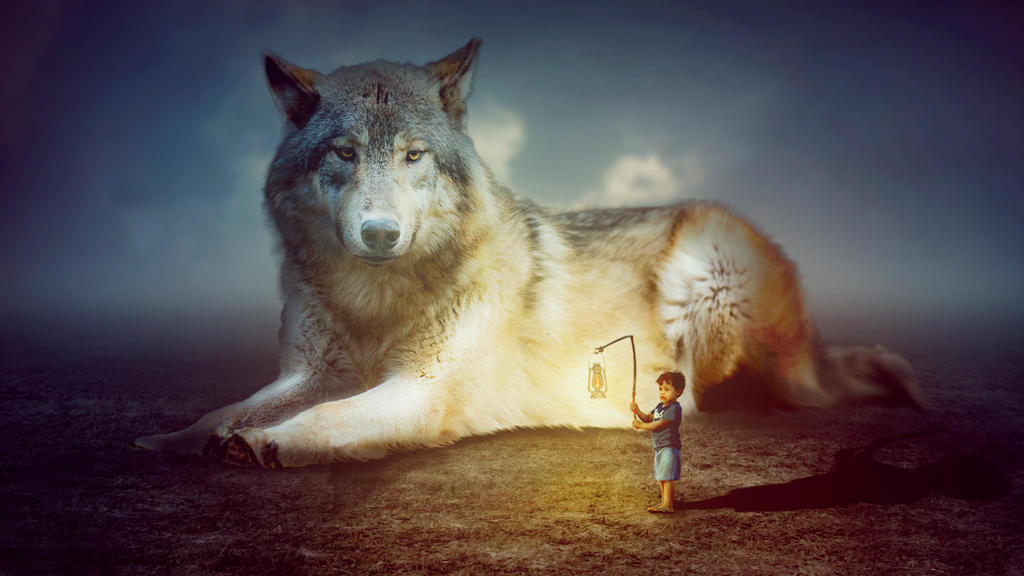 Giant Wolf