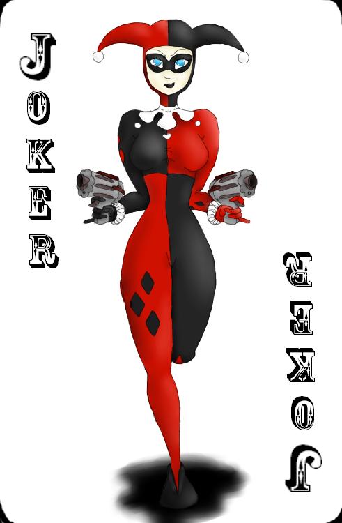 Harley Quinn- Koko style by Nekoage