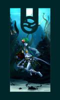 bagpipe underwater