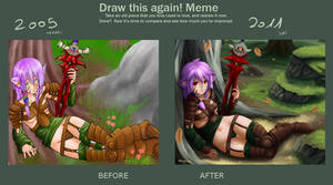 Meme - Draw this again by Barbariank