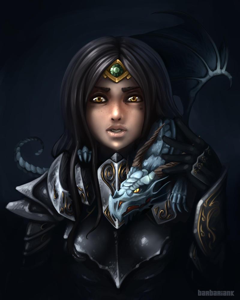 Skyrim - Dragonborn by barbariank