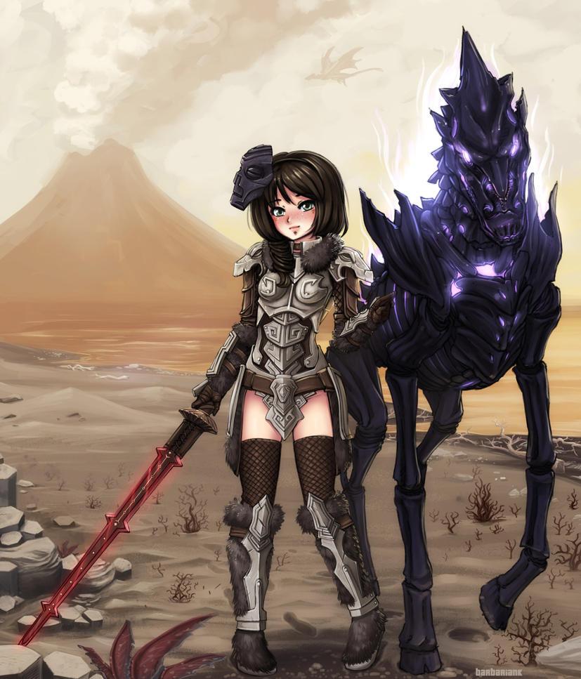 Skyrim - True Dragonborn by barbariank