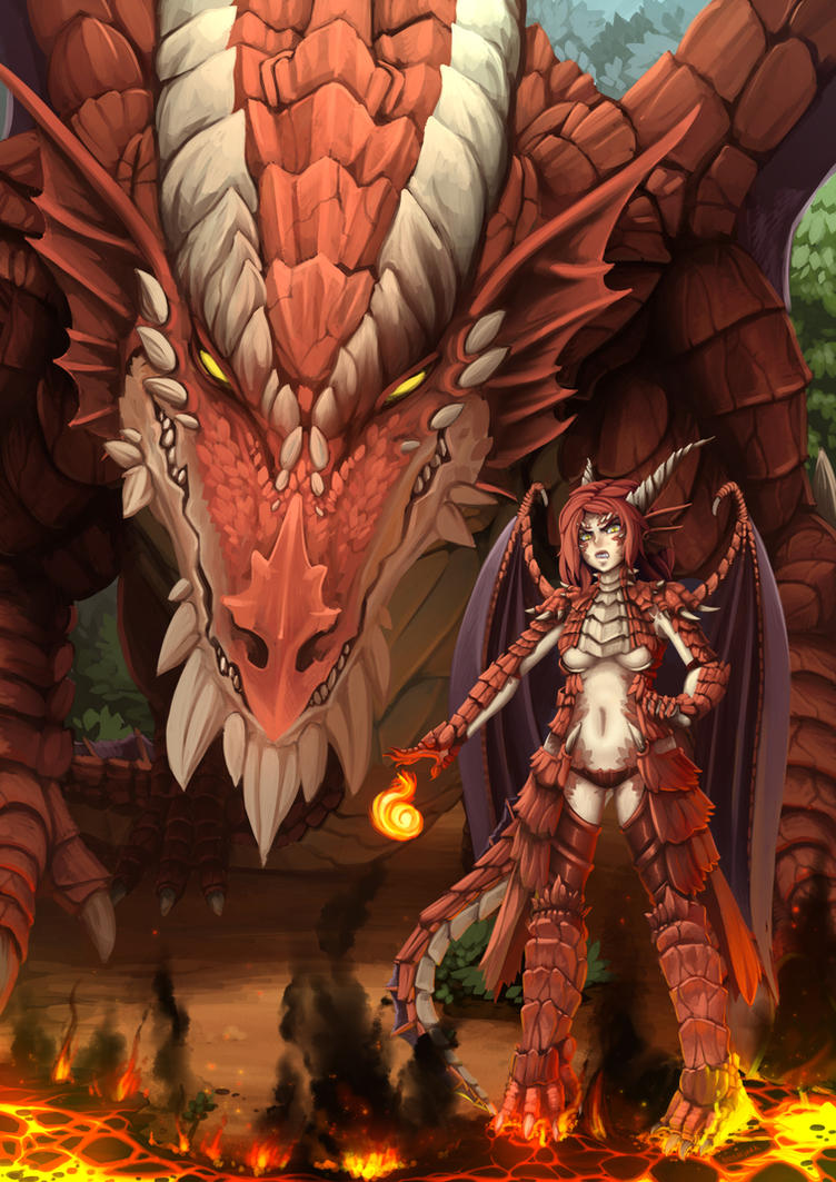 Dnd Red Dragon: Red Dragon (remade) By Barbariank On DeviantArt
