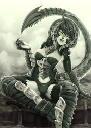 DnD - Black dragon solo by Barbariank