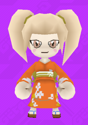 Hiyoko Saionji skin in get amped 2 by Tails-and-Cosmo