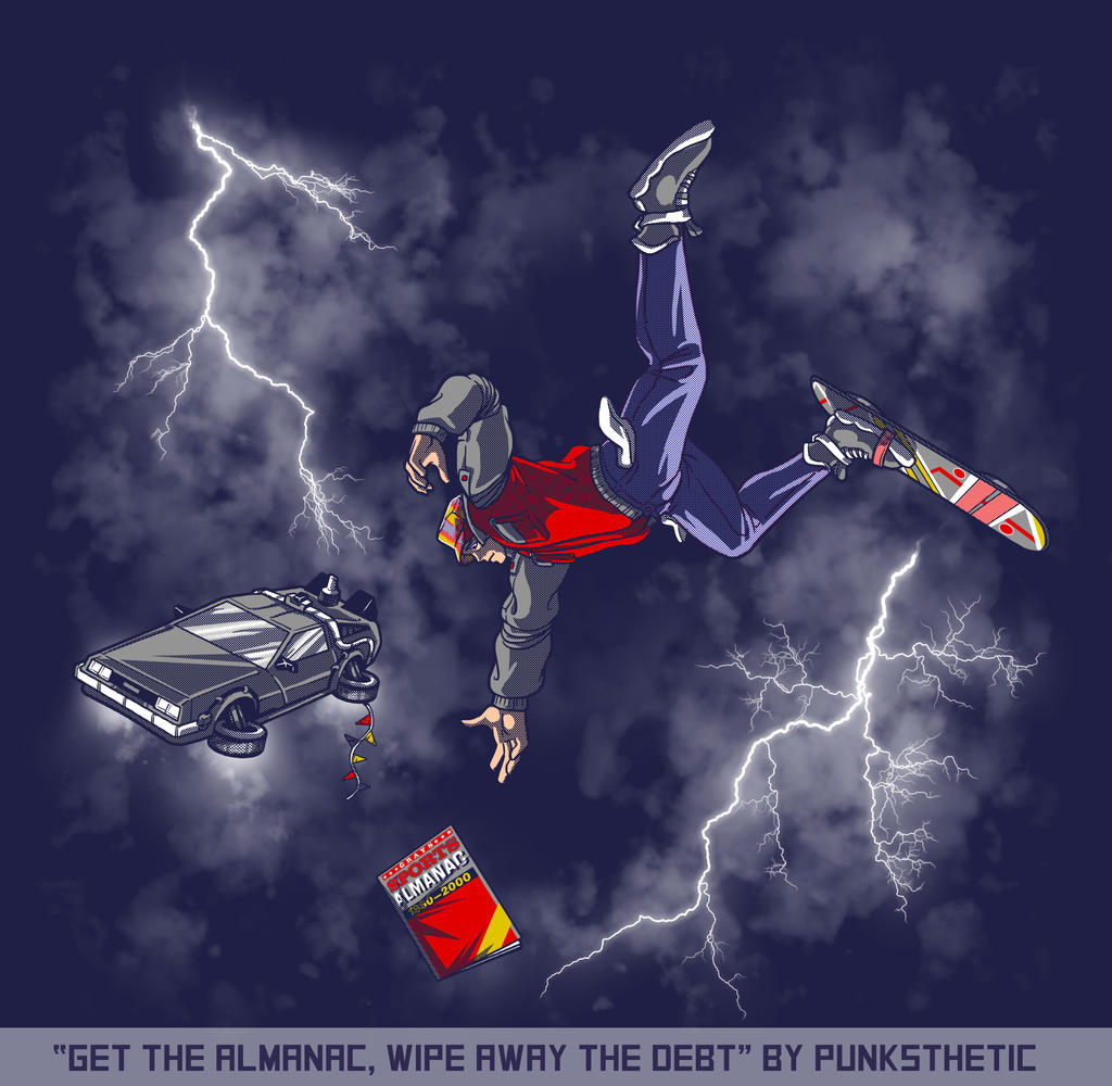 Get The Almnanac, Wipe Away The Debt by JRTribe