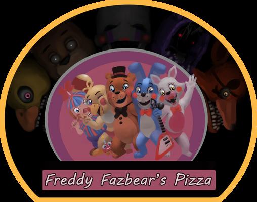 Freddy Fazbear's Pizza Logo (2 ver)