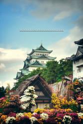 Japanese Castle by WindyLife