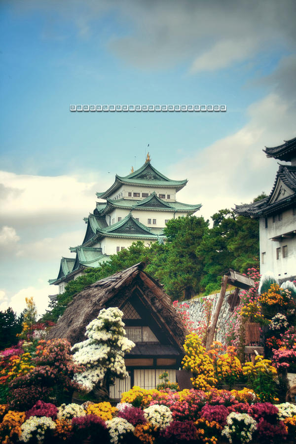 Japanese Castle by WindyLife