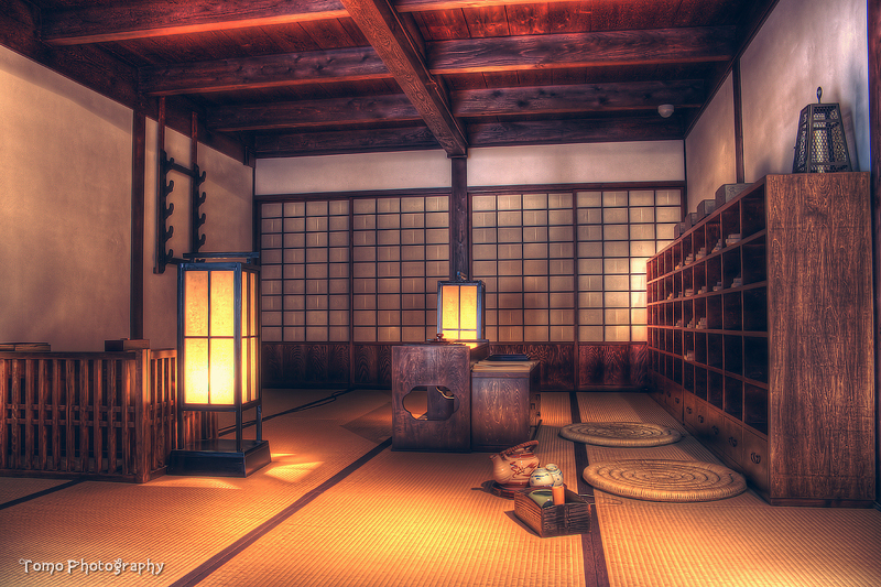 Ancient Japanese Room by WindyLife on DeviantArt Ancient Japanese Architecture Interior